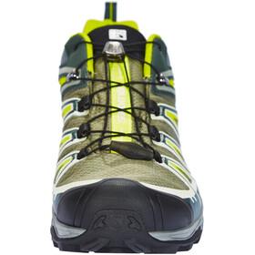 Salomon X Ultra 3 GTX Shoes Men yellow/teal